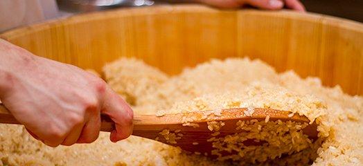 江戸前寿司伝統の味「赤しゃり」